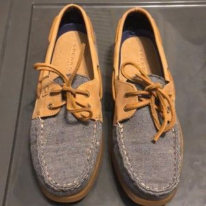 Sperry's boat shoes women's size 10